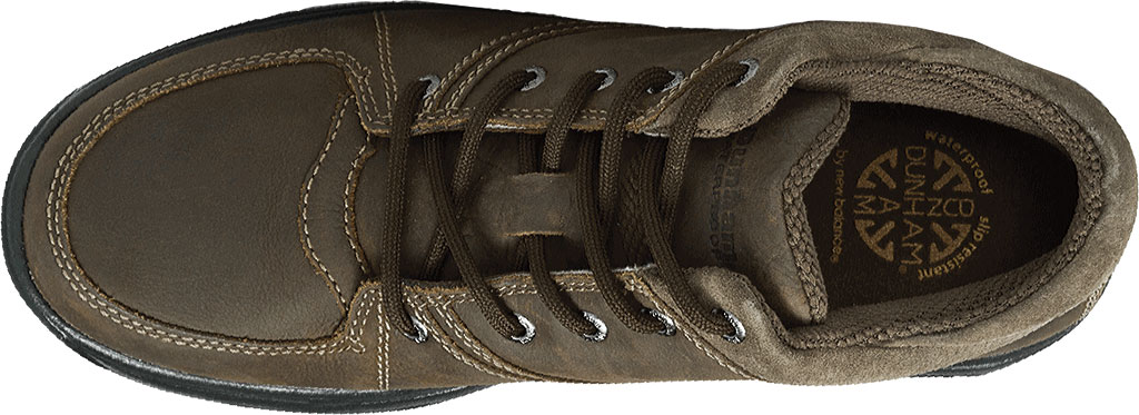 Men's Dunham Addison Lace-Up Boot, Dark Brown Leather, large, image 4