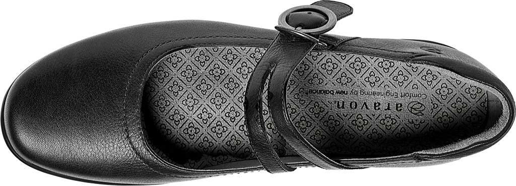 Women's Aravon Tonya, Black Leather, large, image 4