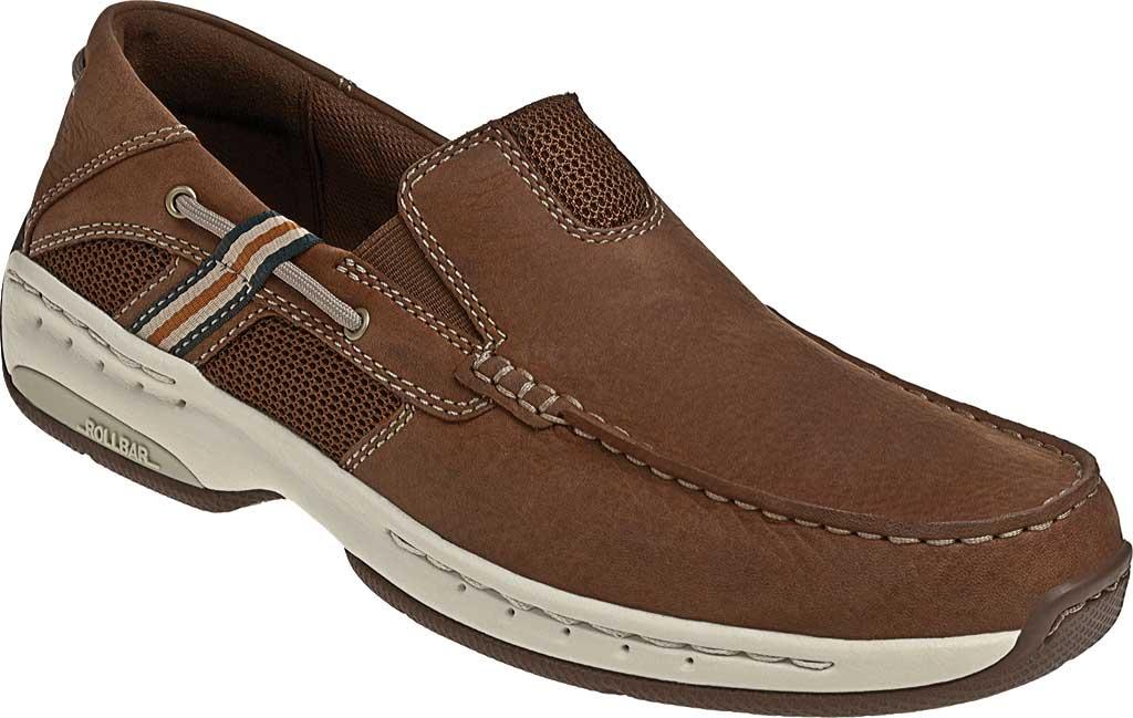 Men's Dunham Windward, Brown Full Grain Leather, large, image 1