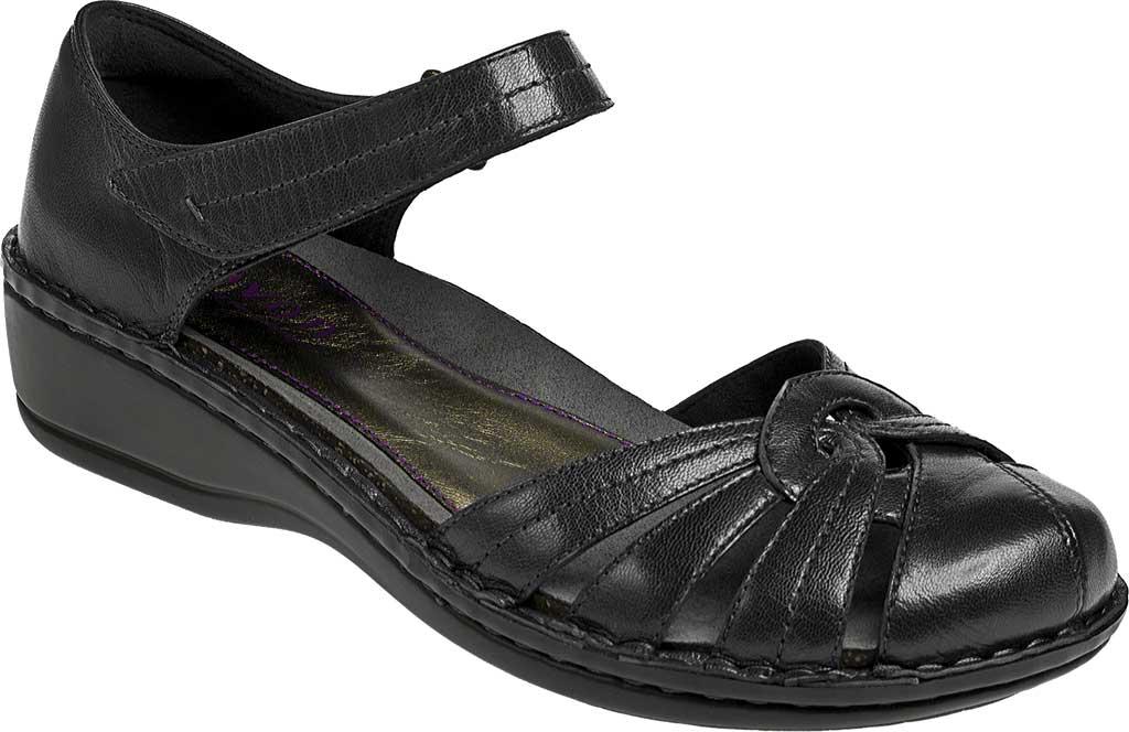 Women's Aravon Clarissa, Black Leather, large, image 1