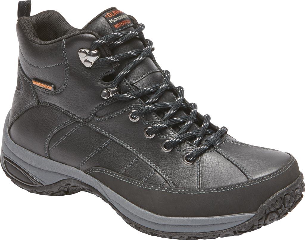 Men's Dunham Lawrence, Black Leather, large, image 1