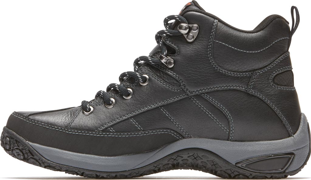 Men's Dunham Lawrence, Black Leather, large, image 3