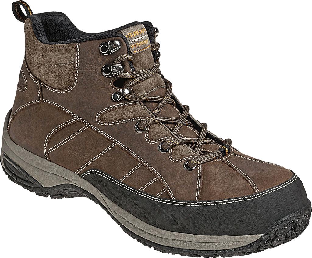 Men's Dunham Lawrence Steel Toe, Dark Brown Full Grain Leather, large, image 1