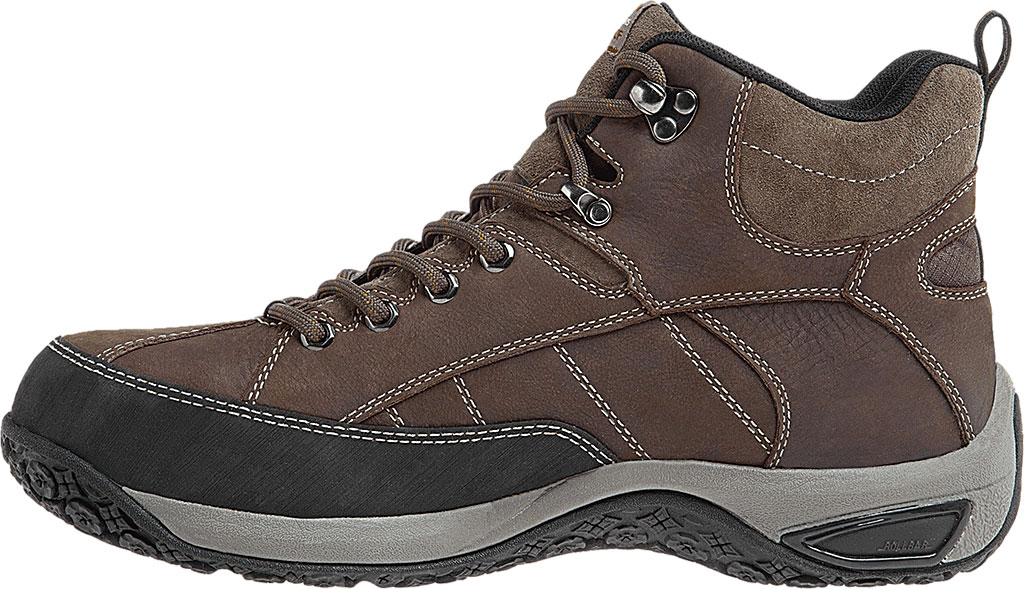 Men's Dunham Lawrence Steel Toe, Dark Brown Full Grain Leather, large, image 2