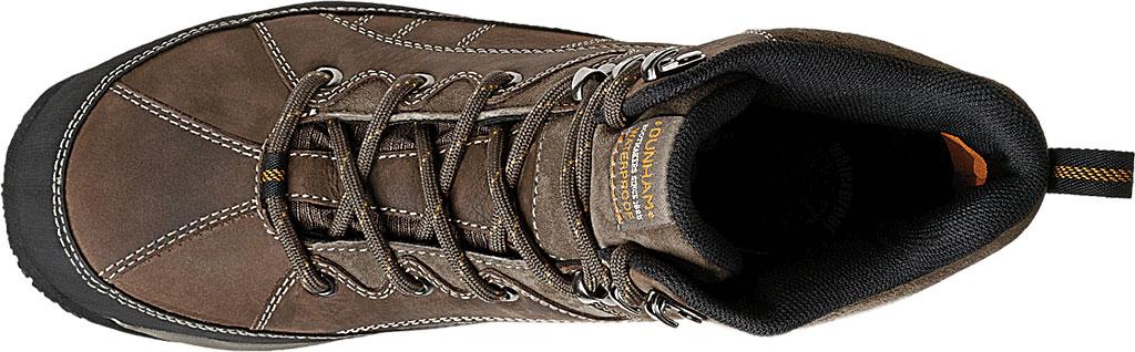 Men's Dunham Lawrence Steel Toe, Dark Brown Full Grain Leather, large, image 3