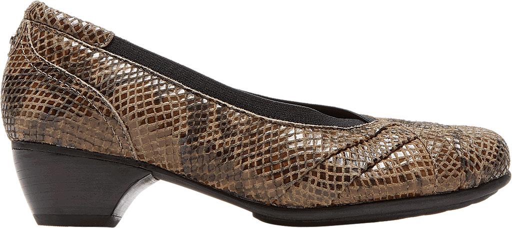 Women's Aravon Patsy, Taupe Snake Leather, large, image 2