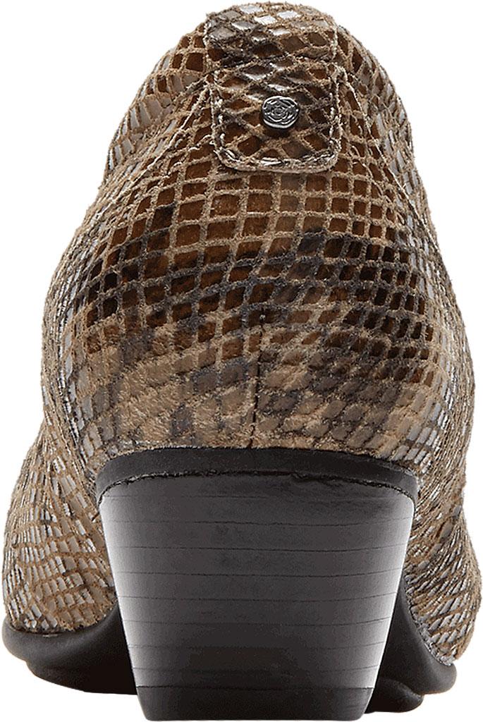 Women's Aravon Patsy, Taupe Snake Leather, large, image 3