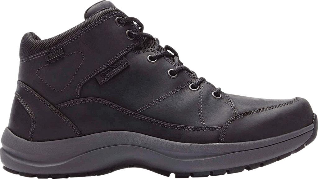 Men's Dunham Simon-DUN Waterproof Ankle Boot, Black Leather, large, image 2