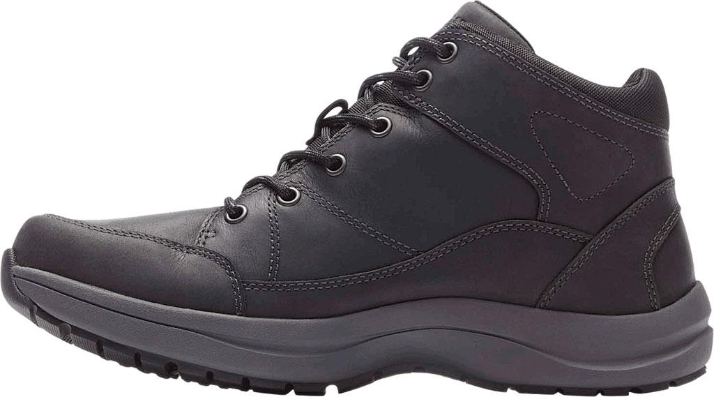 Men's Dunham Simon-DUN Waterproof Ankle Boot, Black Leather, large, image 3