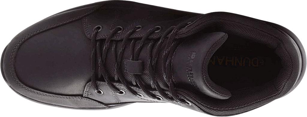Men's Dunham Simon-DUN Waterproof Ankle Boot, Black Leather, large, image 4