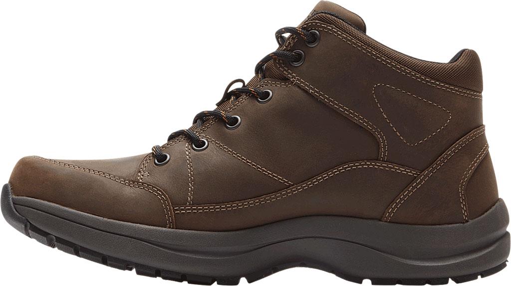 Men's Dunham Simon-DUN Waterproof Ankle Boot, Brown Leather, large, image 3