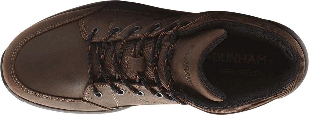 Men's Dunham Simon-DUN Waterproof Ankle Boot, Brown Leather, large, image 4
