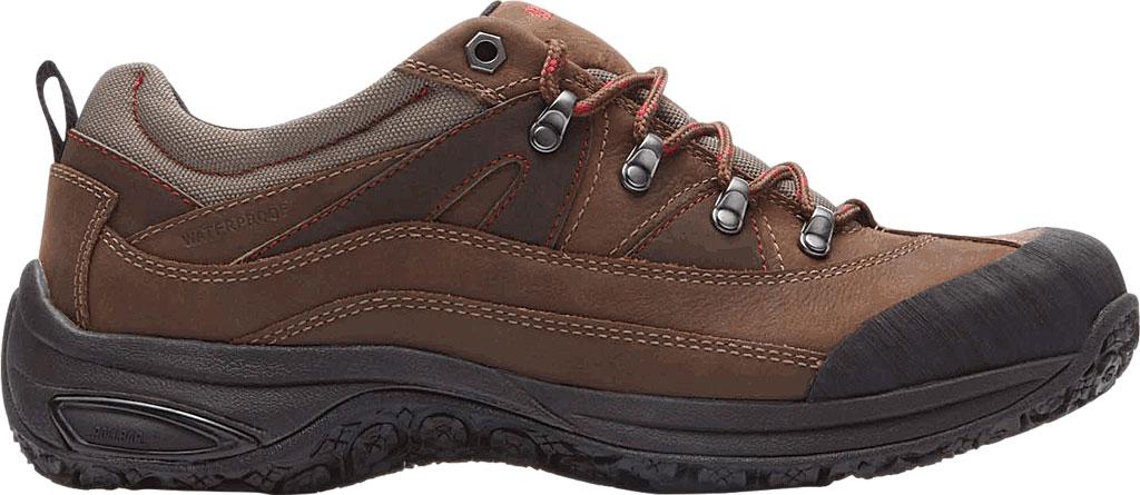 Men's Dunham Cloud Low Waterproof Hiker, Brown Leather, large, image 2