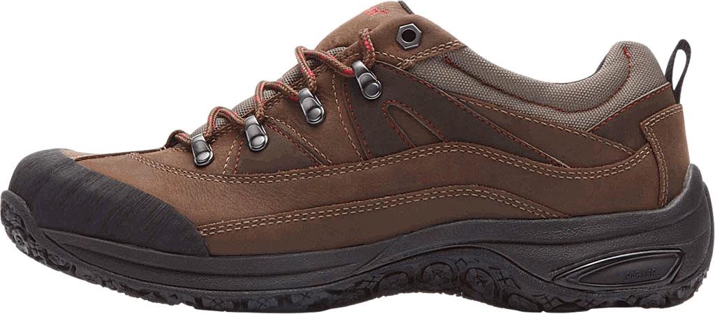 Men's Dunham Cloud Low Waterproof Hiker, Brown Leather, large, image 3