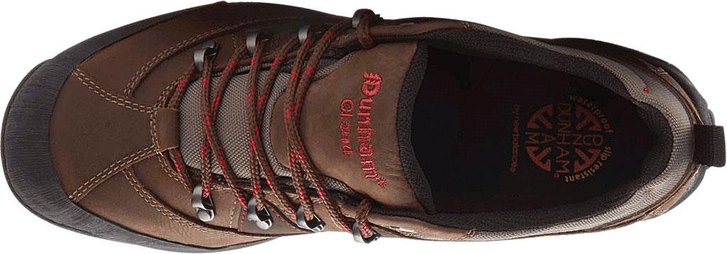 Men's Dunham Cloud Low Waterproof Hiker, Brown Leather, large, image 4