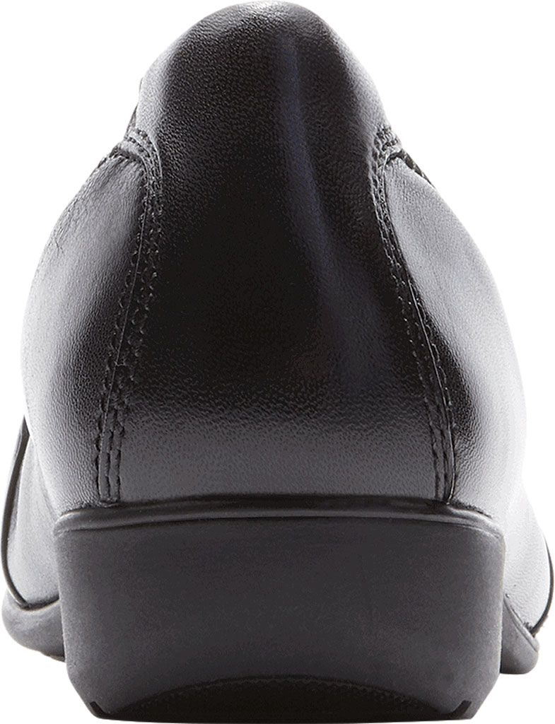 Women's Aravon Andrea-AR Ballerina Flat, Black Leather, large, image 3