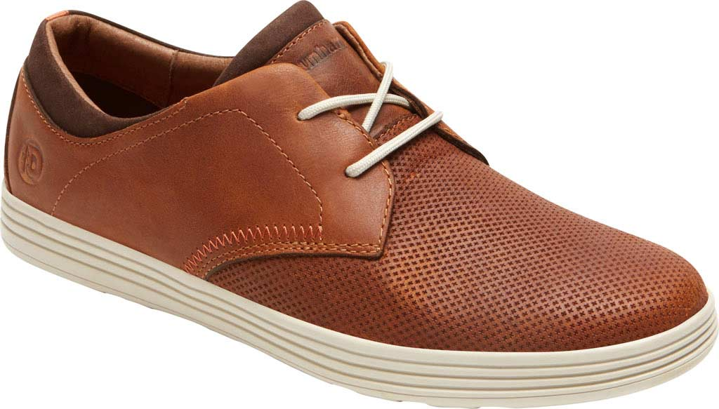 Men's Dunham Colchester Oxford, Brown Leather, large, image 1