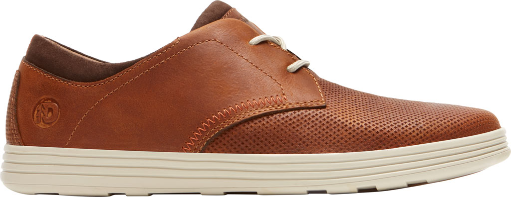 Men's Dunham Colchester Oxford, Brown Leather, large, image 2