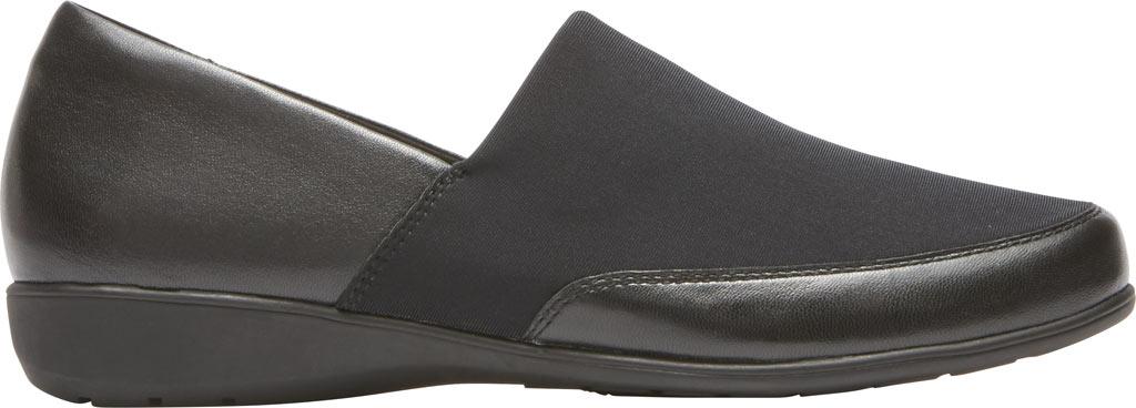 Women's Aravon Abbey A Line Slip-On, Black Leather, large, image 2