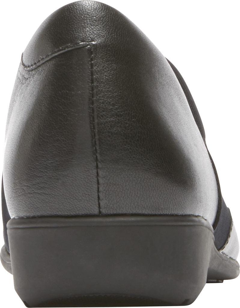 Women's Aravon Abbey A Line Slip-On, Black Leather, large, image 3