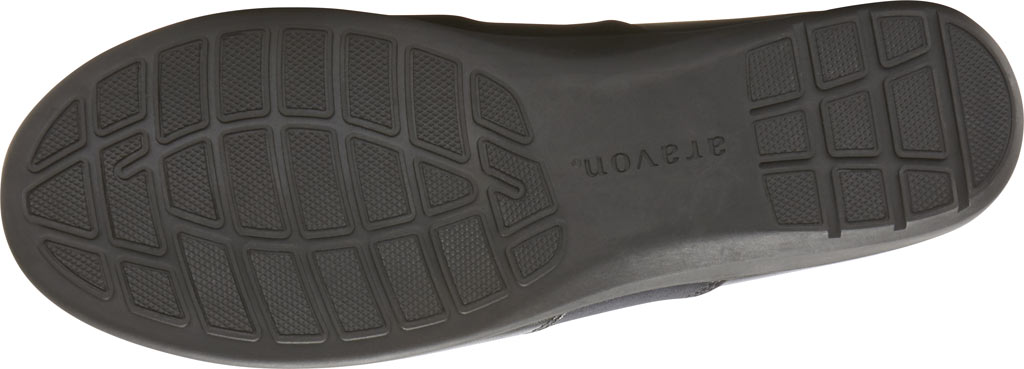 Women's Aravon Abbey A Line Slip-On, Black Leather, large, image 5