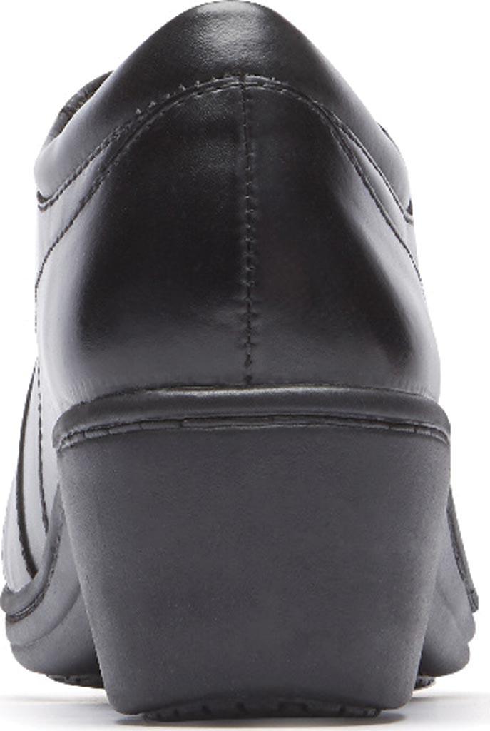 Women's Aravon Hanover Oxford, Black Leather, large, image 3