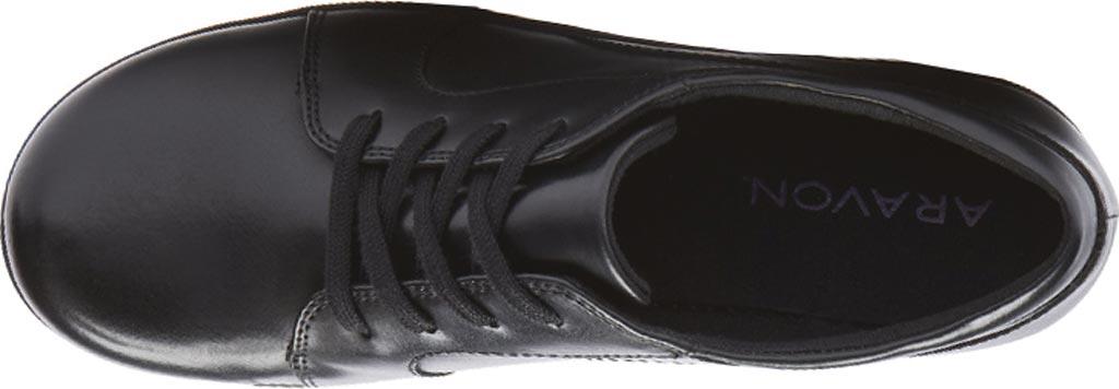 Women's Aravon Hanover Oxford, Black Leather, large, image 4