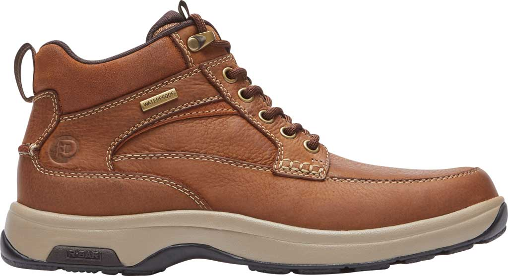 Men's Dunham 8000 Mid Boot, Tan Leather, large, image 2