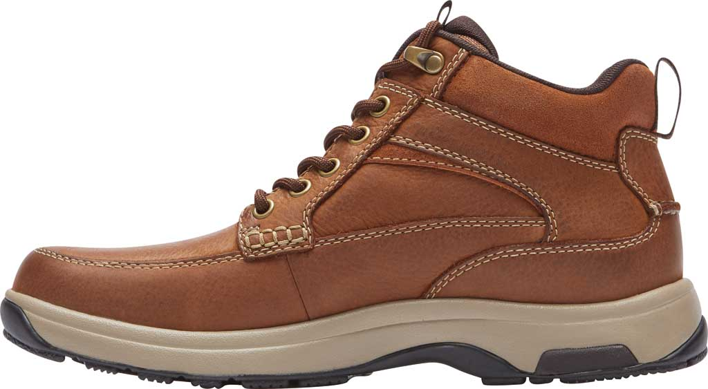 Men's Dunham 8000 Mid Boot, Tan Leather, large, image 3