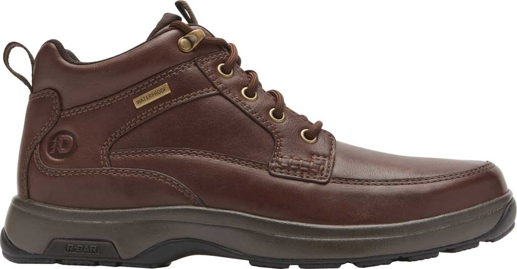 Men's Dunham 8000 Mid Boot, Dark Brown Leather, large, image 2