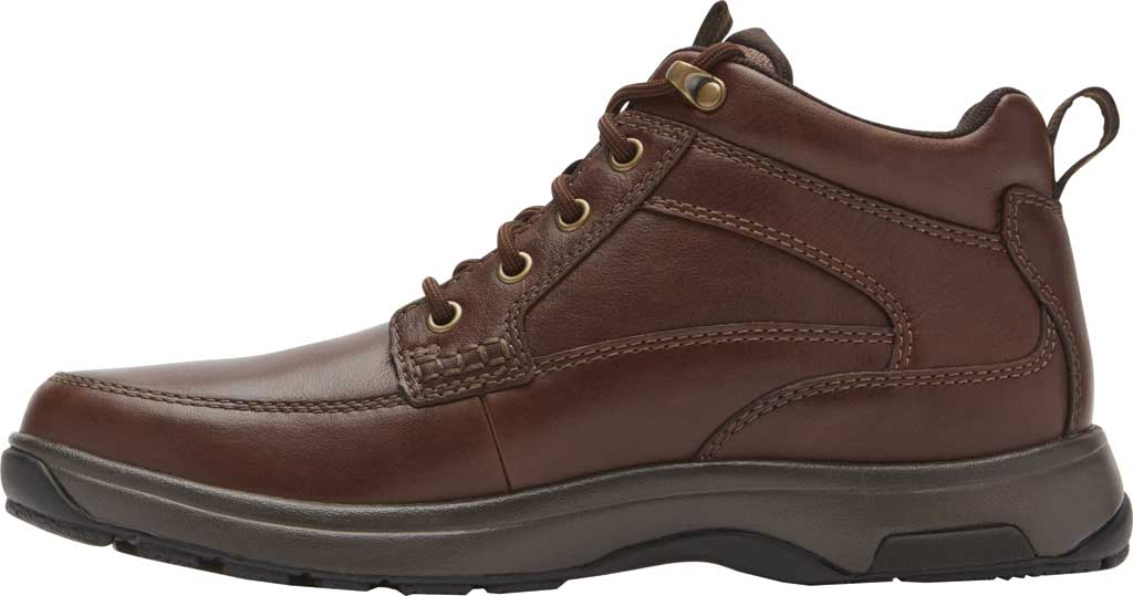 Men's Dunham 8000 Mid Boot, Dark Brown Leather, large, image 3