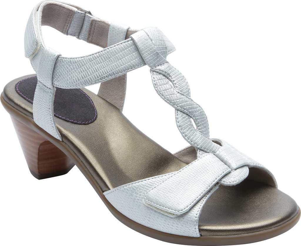 Women's Aravon Medici T Strap Heeled Sandal, , large, image 1
