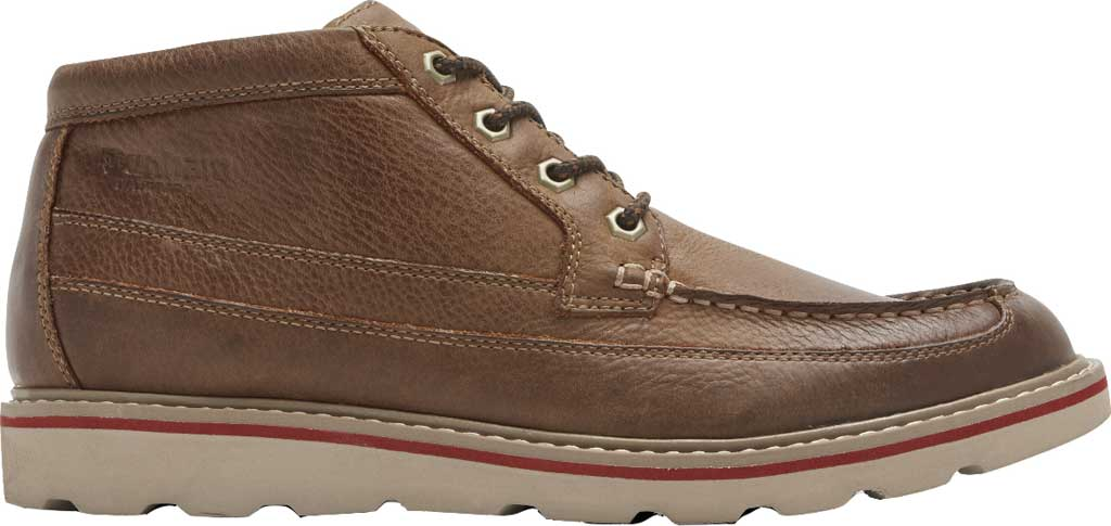Men's Dunham Colt Moc Toe Boot, Tan Full Grain Leather, large, image 2