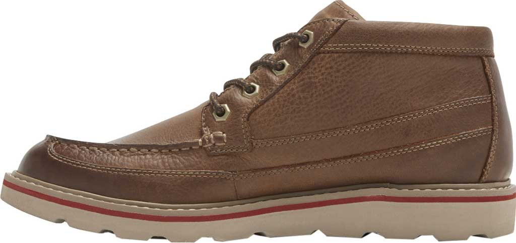 Men's Dunham Colt Moc Toe Boot, Tan Full Grain Leather, large, image 3