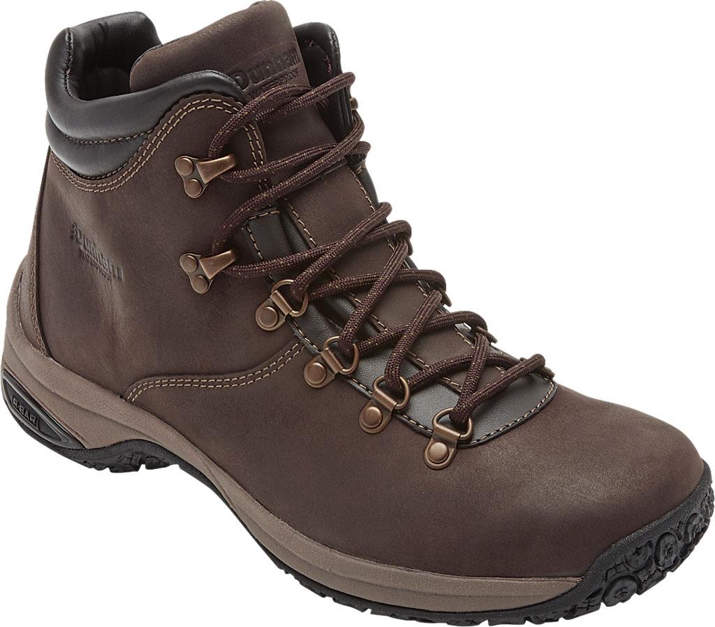 Men's Dunham Ludlow Plain Toe Boot, Brown Full Grain Leather, large, image 1