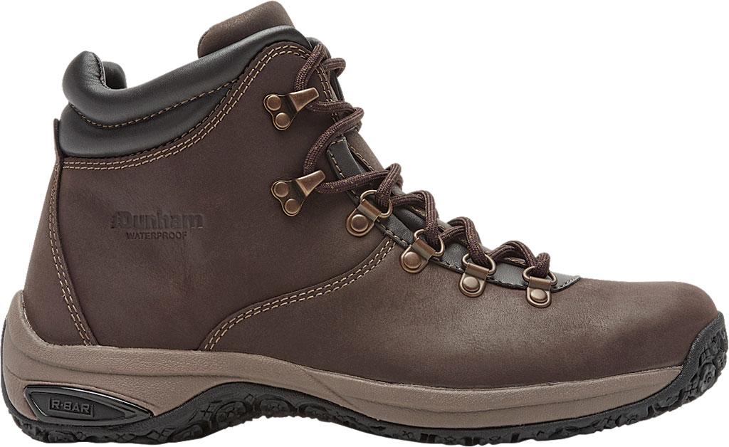 Men's Dunham Ludlow Plain Toe Boot, Brown Full Grain Leather, large, image 2