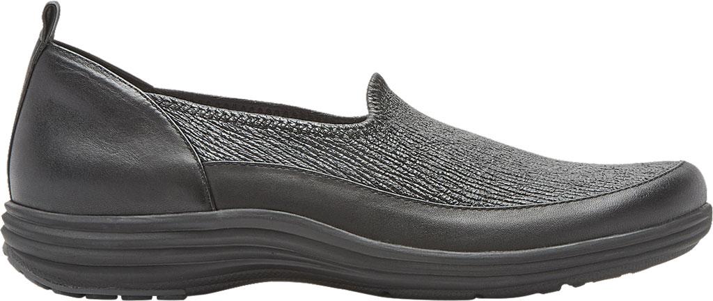 Women's Aravon Quinn Slip-on, Black Full Grain Leather, large, image 2