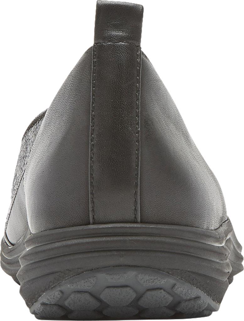 Women's Aravon Quinn Slip-on, Black Full Grain Leather, large, image 3