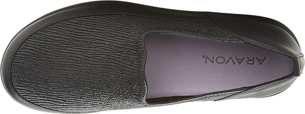 Women's Aravon Quinn Slip-on, Black Full Grain Leather, large, image 4