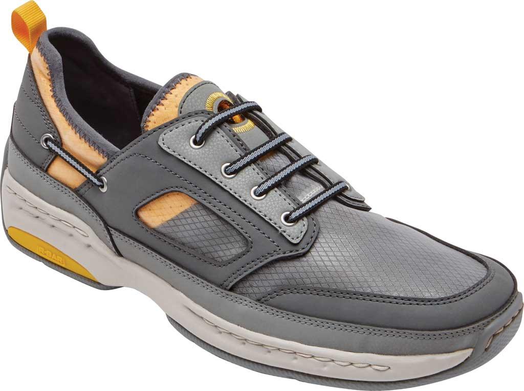 Men's Dunham Captain Sport Sneaker, Grey Textile, large, image 1