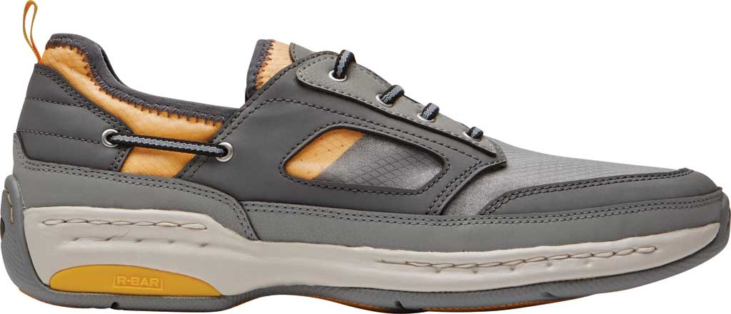 Men's Dunham Captain Sport Sneaker, Grey Textile, large, image 2