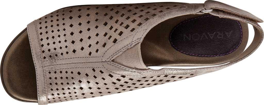 Women's Aravon Medici Peep Slingback Sandal, , large, image 4