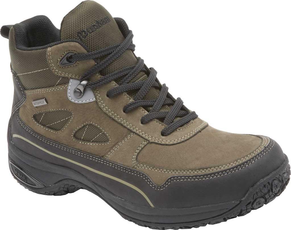 Men's Dunham Cloud Plus Mid II Ankle Boot, Breen Nubuck, large, image 1