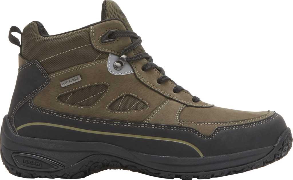Men's Dunham Cloud Plus Mid II Ankle Boot, Breen Nubuck, large, image 2