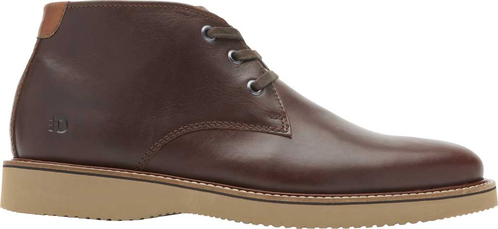 Men's Dunham Clyde Chukka Boot, Saddle Brown Full Grain Leather, large, image 2