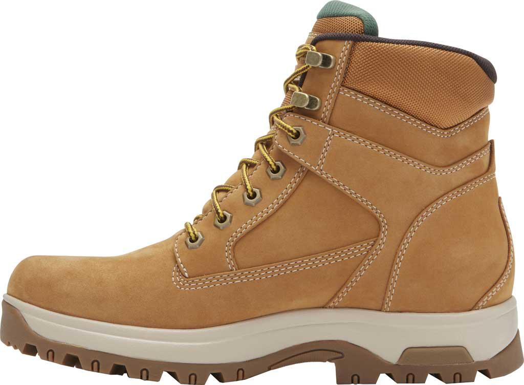 "Men's Dunham 8000WORKS 6"" Plain Toe Work Boot, Wheat Nubuck, large, image 3"