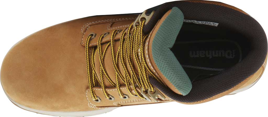 "Men's Dunham 8000WORKS 6"" Plain Toe Work Boot, Wheat Nubuck, large, image 4"