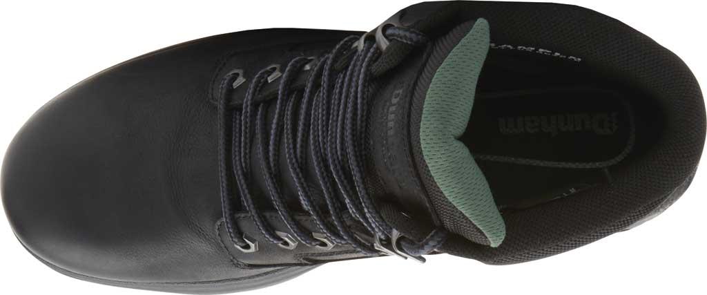 "Men's Dunham 8000WORKS 6"" Plain Toe Work Boot, Black Leather, large, image 4"