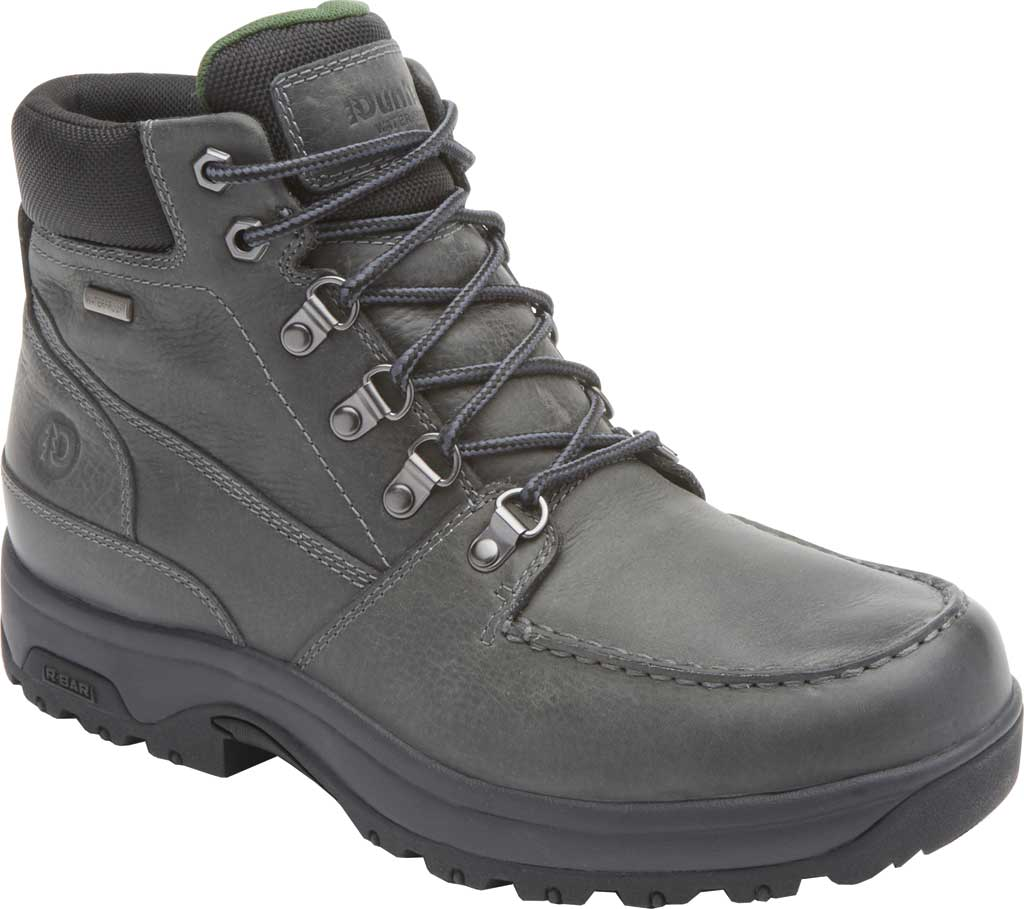 Men's Dunham 8000 WORKS Moc Toe Work Boot, Castlerock Leather, large, image 1