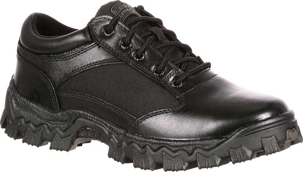 Men's Rocky AlphaForce Oxford 2168, Black Leather, large, image 1
